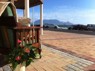Beach Front Self Catering Guest Accommodation in Bloubergstrand - Western Cape vacation rentals