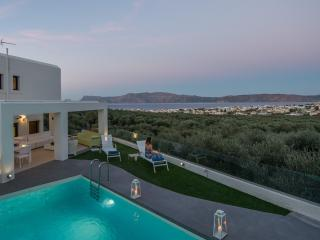 Modern private villa for up 10x, with pool & views - Drapanias vacation rentals