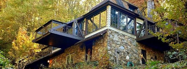 Unique Cottage - 3 decks - Playfully Quaint Cottage | Romantic Rural Setting - Asheville - rentals