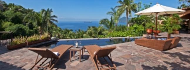 This picture doesn't do it justice ! - Luxe Casa de Sofia w/ Local Flavor & Superb Views! - Manzanillo - rentals