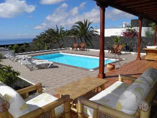 Exclusive & private Villa in Macher with sea view - Charco del Palo vacation rentals