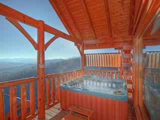 Hot Tub - Luxury Vacation Cabin-Dramatic SmokyMountain View! - Pigeon Forge - rentals