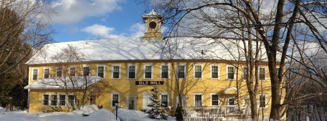 Old Mill Inn, Hatfield Massachusetts - Unique Apartment Overlooking Waterfall in Mill B&B - Hatfield - rentals