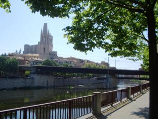 Bright, Riverside Apartment in Girona No 4 - Beuda vacation rentals