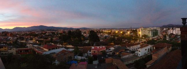 Panoramic View from Terrace - Beautiful Apartment with Stunning Terrace View - Cuenca - rentals