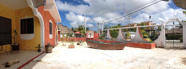garden view - Posada La Catrina Holbox- Triple room - Holbox Island - rentals