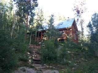 Amazing, Secluded Mountain Log Cabin w Hot Tub! - Twin Lakes vacation rentals