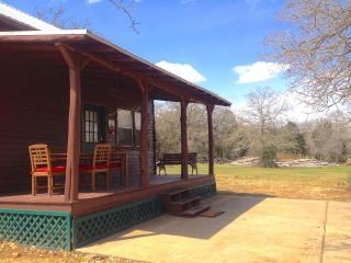 Hill Country Getaway cabin near Austin, Bastrop - Paige vacation rentals