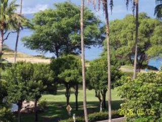 VIEW FROM LANAI - OCEAN VIEW LUXURY PENTHOUSE SUITE 2/2 MAUI, HI - Kihei - rentals