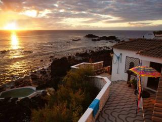 Oceanfront Stonehouse, natural pool. - Mosteiros vacation rentals