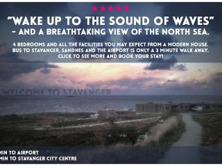 Wake up to the sound of waves - Rogaland vacation rentals