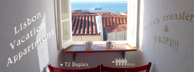 Tejo View - Madragoa´s Duplex Apartment - Typical Neighbourhood - Lisbon - rentals