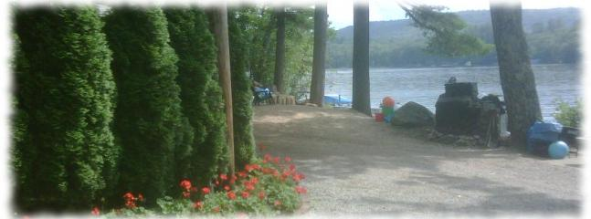 CCC website home page - Cotton Cove Cottages on Big Squam Lake in N.H. - Holderness - rentals