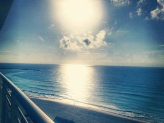 Luxury condo with beach front and lagoon view in t - Cancun vacation rentals