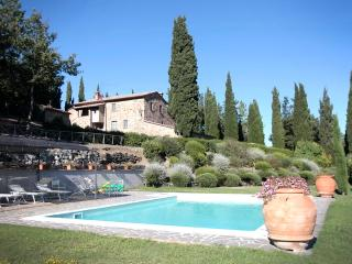 Villa Elena, medieval jewel  nestled in a timeless corner of Tuscany. - Contignano vacation rentals