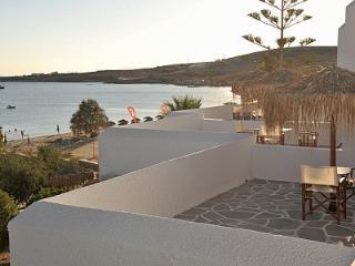 Arokaria Beach Studio with Panoramic Sea View - Paros vacation rentals