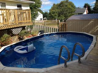 2 Bdr with POOL. FREE Bridge Pass on 1 week rental - Charlottetown vacation rentals