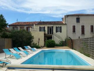 Family house with pool - Servian vacation rentals