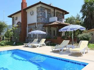 decorated with flowers,shared big pool,english tv, - Dalyan vacation rentals