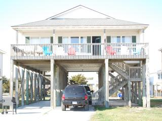 Beach House steps to sandy toes! - Oak Island vacation rentals
