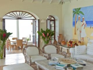 3 Bedroom Villa with Cliff Side Infinity Pool in Mustique - Mustique vacation rentals