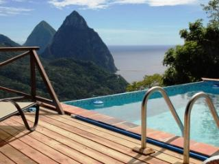Villa Colombette: Pitons, Ocean, Rain Forest views - Laborie vacation rentals