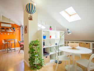 Designer Attic With Rooftop Terrace - Madrid vacation rentals