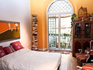 A balcony on the Tiber in Rome - Rome vacation rentals