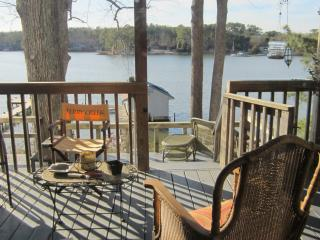 Waterfront Home with Pier and Boathouse, 4ft MLT - White Stone vacation rentals