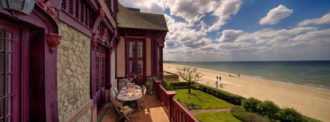 Sublime Norman Villa on the beach in Deauville - Image 1 - Deauville - rentals
