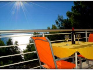 Ark sea view apartment, secluded by the beach III - Split vacation rentals