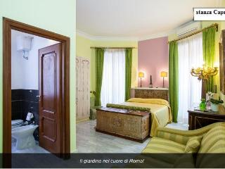 Capri's Room the garden in the heart of Rome. - Rome vacation rentals