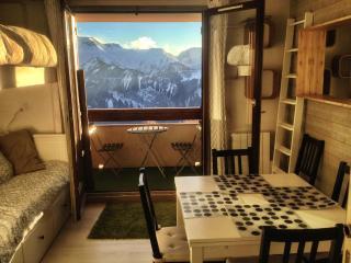 Beautiful flat -south balcony & view - Alpe d'Huez - L'Alpe-d'Huez vacation rentals