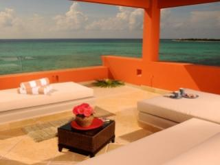 Magnificent 6 Bedroom Beachfront Villa in Soliman Bay - Yucatan-Mayan Riviera vacation rentals