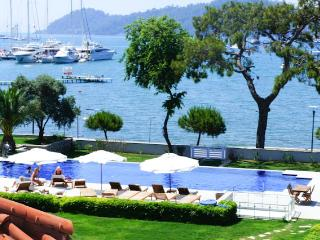 Seafront Luxury Attic Duplex in Gocek Town center - Gocek vacation rentals