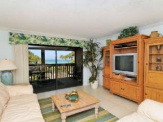 Living area to lanai - Chinaberry 433 - Siesta Key - rentals