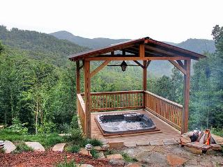 NEW LOG CABIN. VIEWS. HOT-TUB. NOV AVAILABILITY!!! - Burnsville vacation rentals