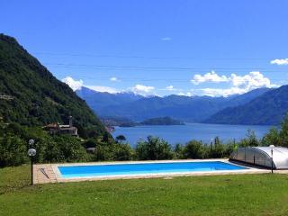 Garden Apt with pool 2 bedrooms sleep up to 6 - Argegno vacation rentals
