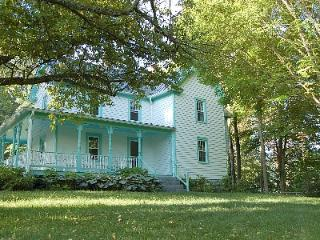 Charming  secluded 1910 home on 62 parklike acres - Marion vacation rentals