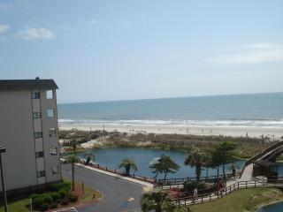 Beautiful Ocean View from Myrtle Beach Resort Condo with Pool and Jacuzzi - Myrtle Beach vacation rentals