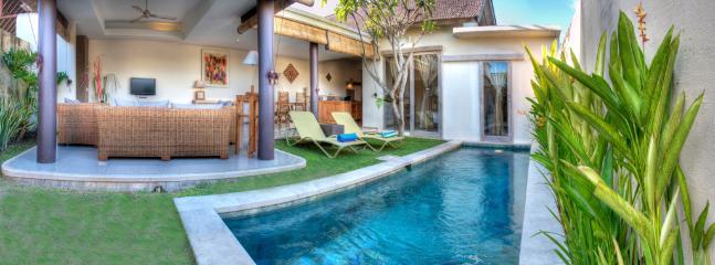 Villa and Pool view - Luxury 1 Bedroom Villas Umalas, Nr Seminyak - Seminyak - rentals