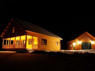Owl's Nest - Beautiful, Spacious Log Home - Colebrook vacation rentals