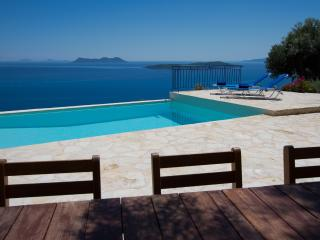 Villa Coquili: Just imagine one of the most amazing view of the area, a very deep blue sea - Sivota vacation rentals
