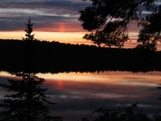 Double Eagle Lodge isolated on a wilderness lake - Amasa vacation rentals