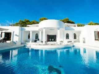 Sensational Villa Rica with a detox sauna, hot tub, sky lounge and staff - Ibiza vacation rentals