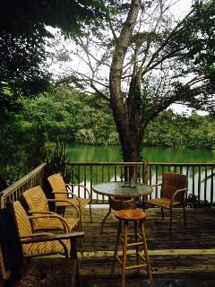 Balconies & terraces - Lakeside Cottage in the Heart of Carite Forest - Guayama - rentals