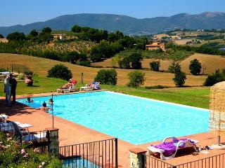 Spoleto By The Pool: APT 4. Spoleto centre/0.7 mls - Spoleto vacation rentals