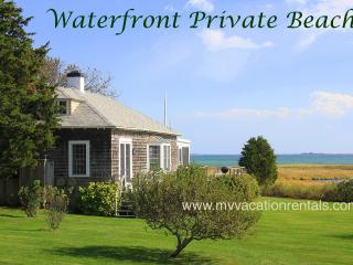ALLEB - Waterfront, Private Beach, Close to Town - Edgartown vacation rentals
