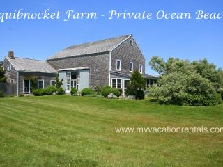 HORNP - Squibnocket Farm Waterfront, Private Beach, - Chilmark vacation rentals