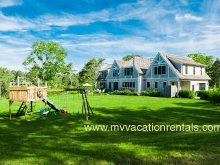MORAA - Designer Luxury Home Overlooking Farm Neck Golf Course, Waterviews, Central A/C, WiFi,  Short Bike Ride to State Beach o - Oak Bluffs vacation rentals